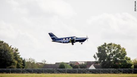 Aerospace start-up ZeroAvia flew the world's largest hydrogen fuel cell-powered aircraft at Cranfield Airport in England on September 24, 202, to demonstrate the potential of hydrogen as a jet fuel.