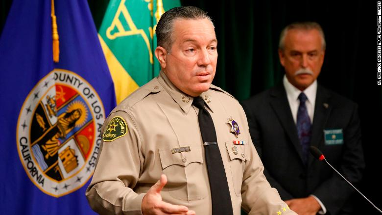 Los Angeles County Sheriff should resign over transparency issues, watchdog group says