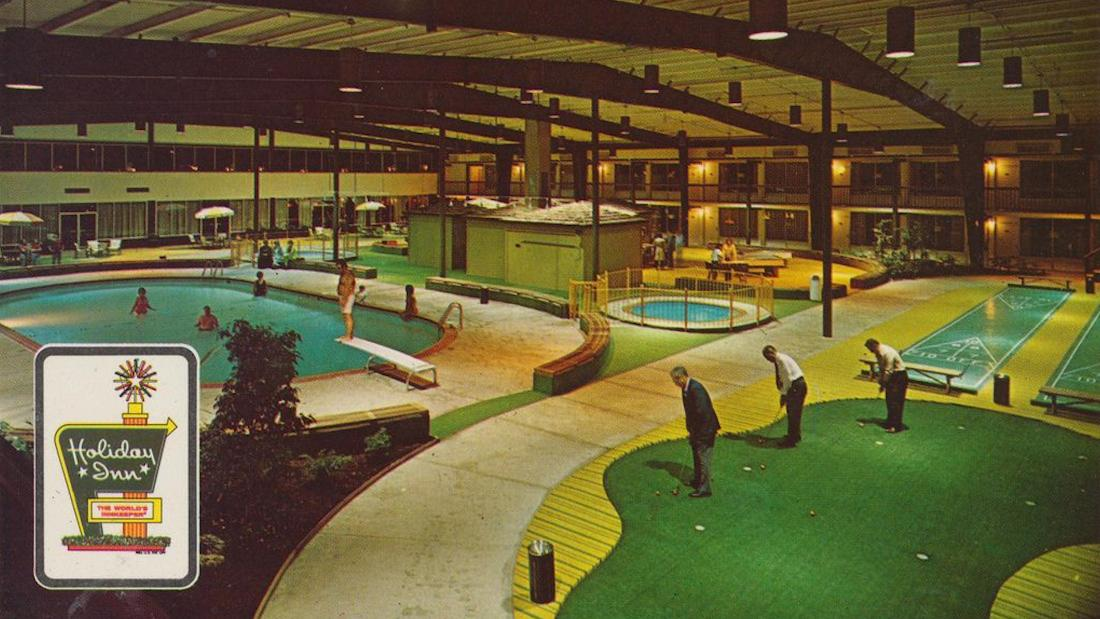 The adult amusement park of yesterday, the Holiday Inn Holidome