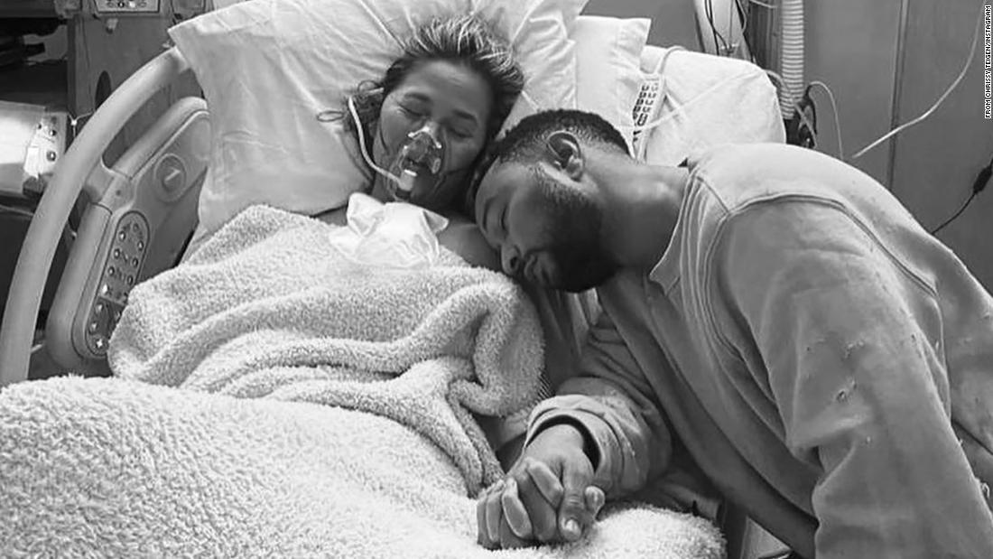 John Legend posts touching tribute to Chrissy Teigen