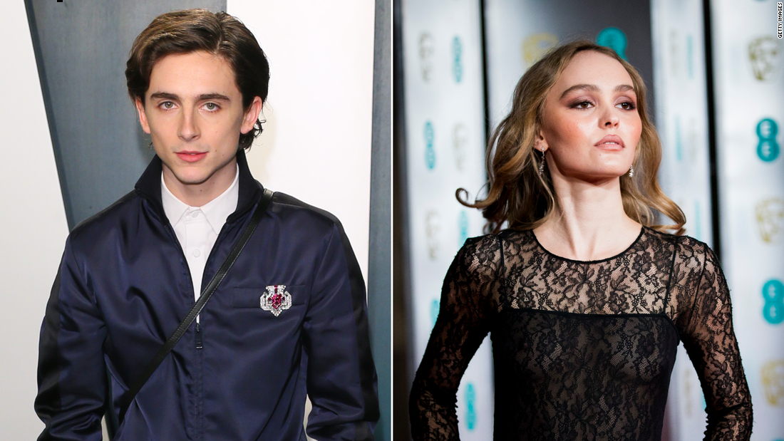 Timothée Chalamet was 'embarrassed' by make-out photos with Lily-Rose Depp