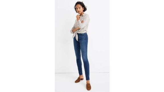 Madewell Curvy High-Rise Skinny Jeans in Hayes Wash