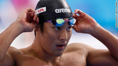 Seto has been suspended for the rest of the year but will be free to compete in the postponed Olympics.