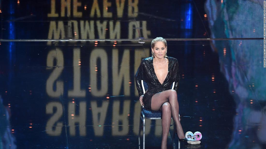 Sharon Stone says her calls for a fully vaccinated set have put her job in jeopardy