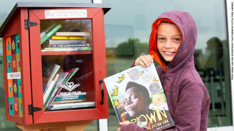 Little Free Library is diversifying its book-sharing boxes with more titles about people of color