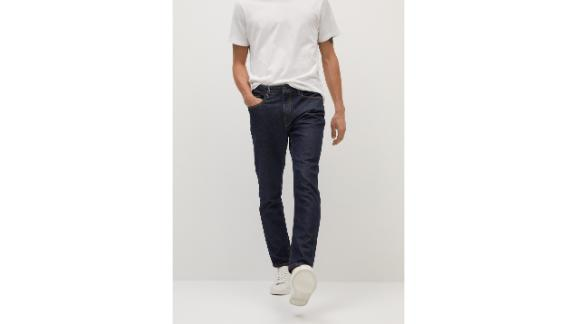 Mango Tapered-Fit Soft Lyocell Touch Tom Jeans