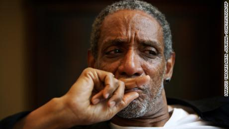 Actor Thomas Jefferson Byrd appears during a portrait session in Atlanta in 2008.