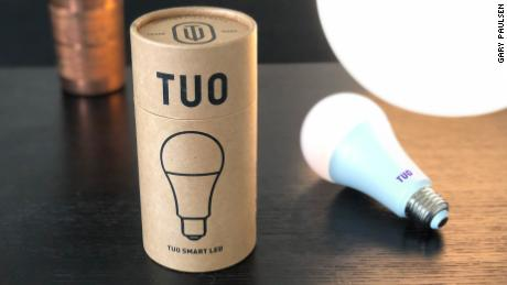 TUO's bulb is intended to help energize users in the morning and calm them at night.