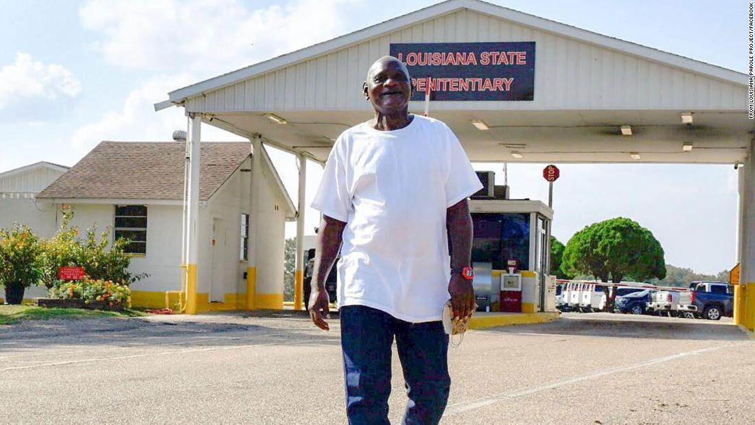 Black man serving life sentence for stealing hedge clippers granted parole in Louisiana