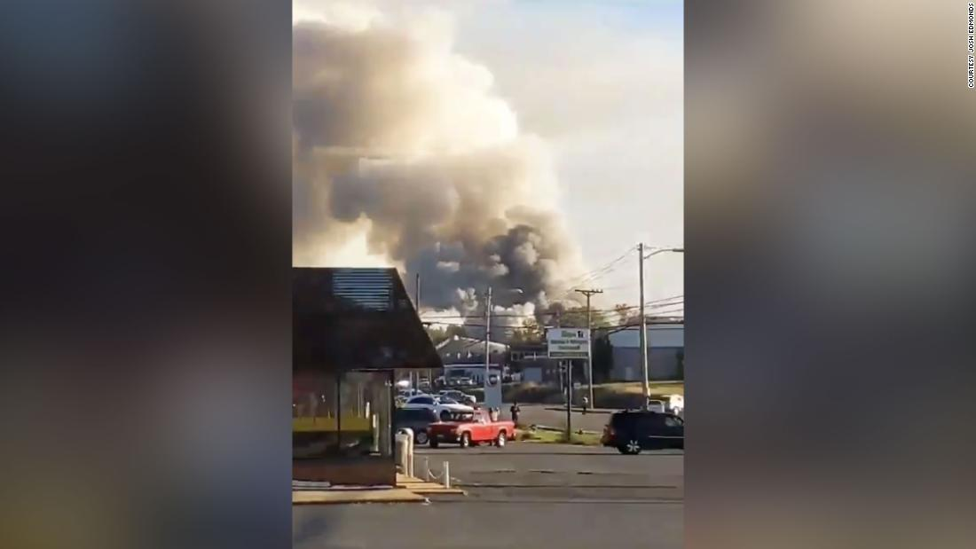 Explosion injures 3 in Harrisonburg, Virginia