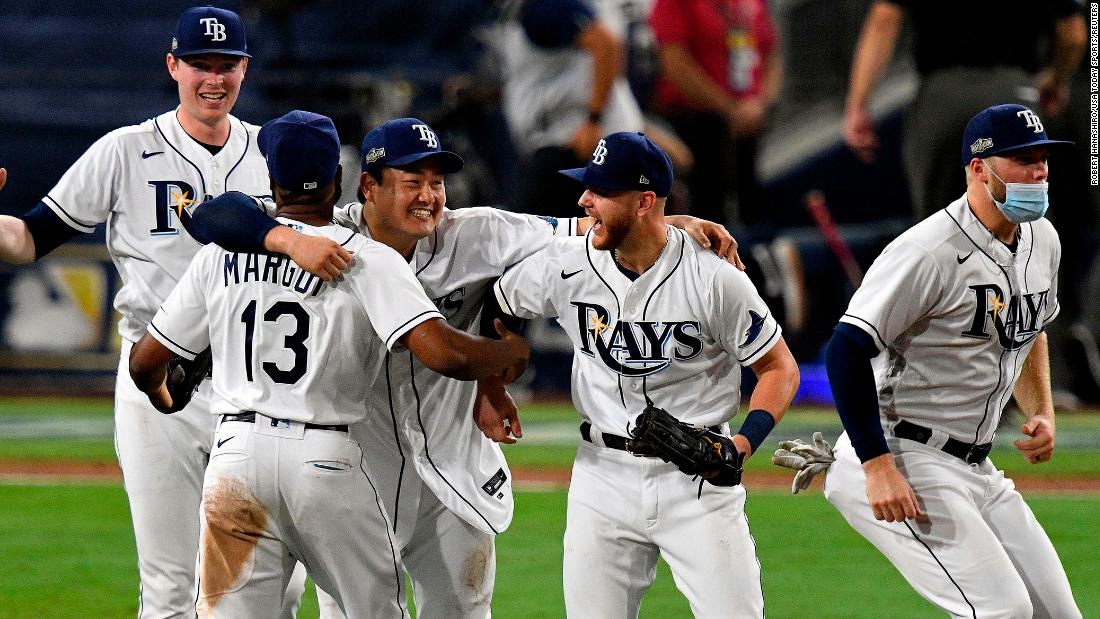 The Rays defeated the Houston Astros by a score of 4-2.