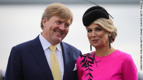 The Dutch king interrupted his vacation in Greece after criticism