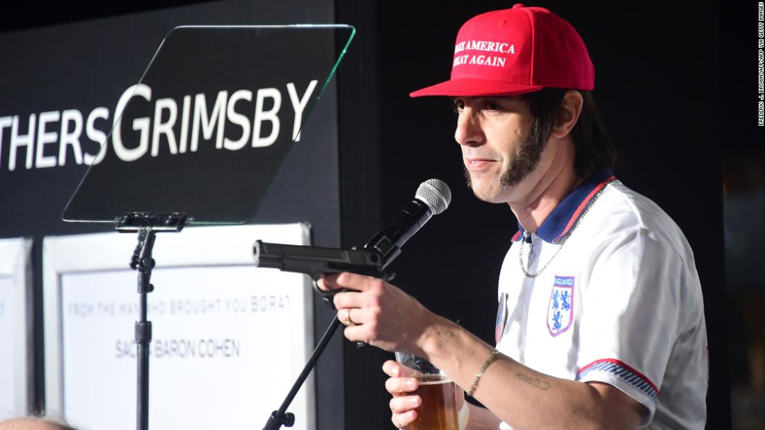 Sacha Baron Cohen explains how he crashed Pence speech dressed as Trump