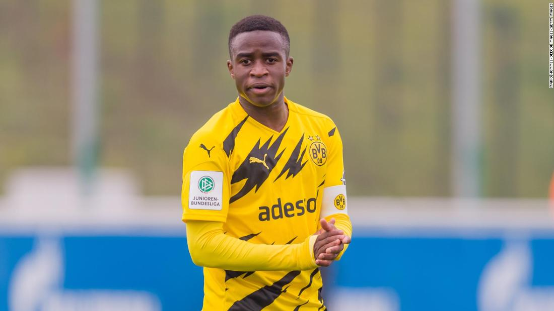 Schalke apologizes after fans racially abuse Borussia Dortmund's Youssoufa Moukoko