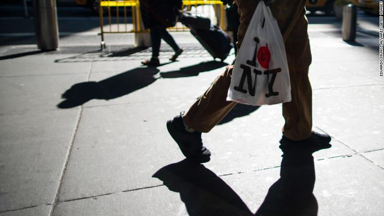 The New York plastic bag ban is finally being enforced in businesses across the state