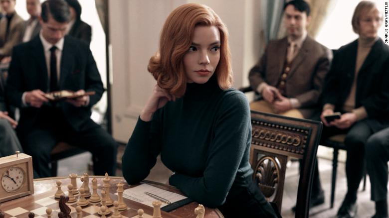 'The Queen's Gambit' doesn't make all the right moves, but Anya Taylor-Joy does