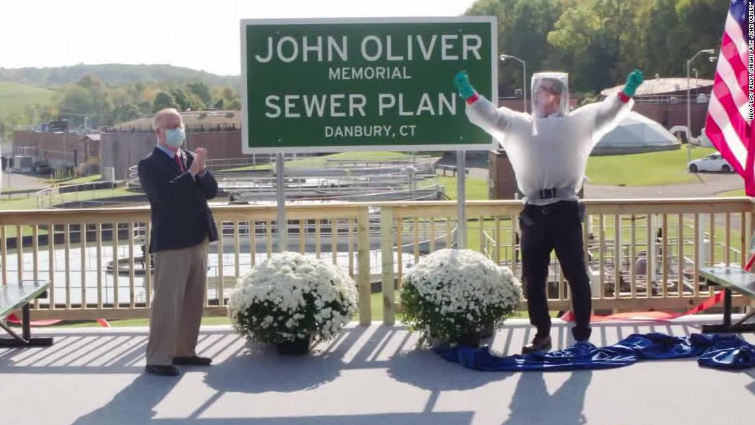 Town renames sewage plant after late-night comedian