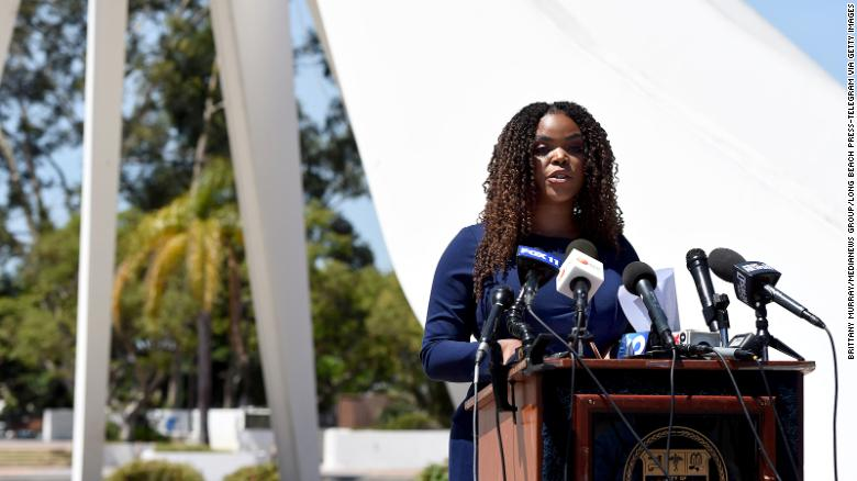 Compton Mayor Aja Brown announced the launch of Compton Pledge -- a new pilot program that will give 800 Compton residents free cash for two years.