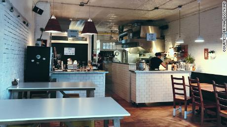 LB Kitchen in Portland, Maine, has kept one of two locations open for take-out.