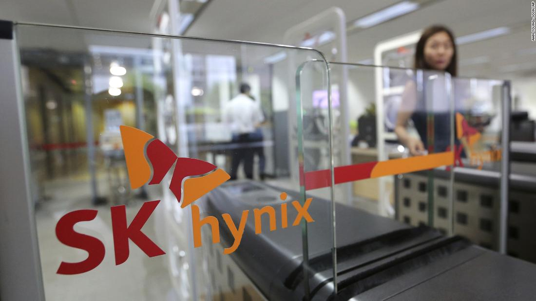 Intel sells NAND memory chip business to SK Hynix for $9 billion