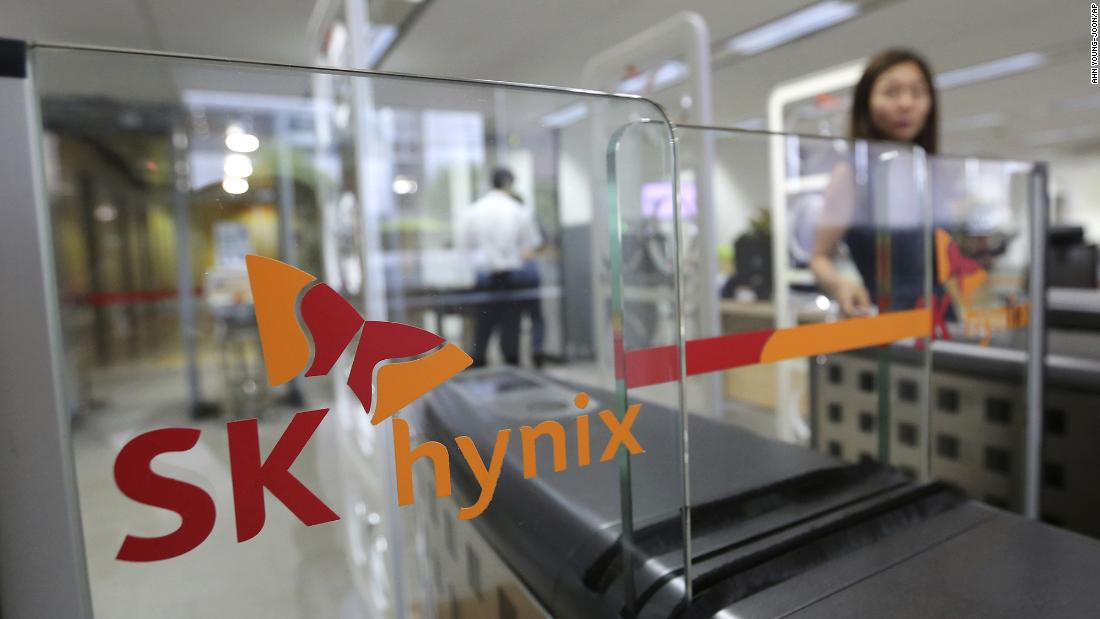 Intel sells NAND memory chip business to SK Hynix for $9 billion - CNN