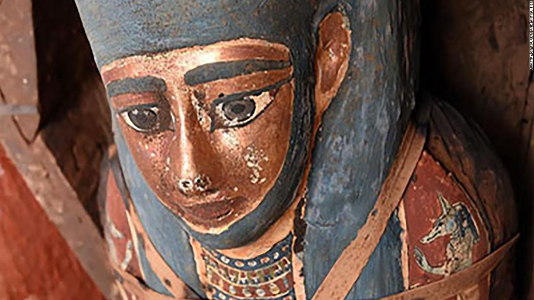 Archaeologists unearth 'huge number' of sealed Egyptian sarcophagi