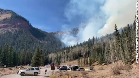 Wildfires force closure of national forests in five Colorado counties