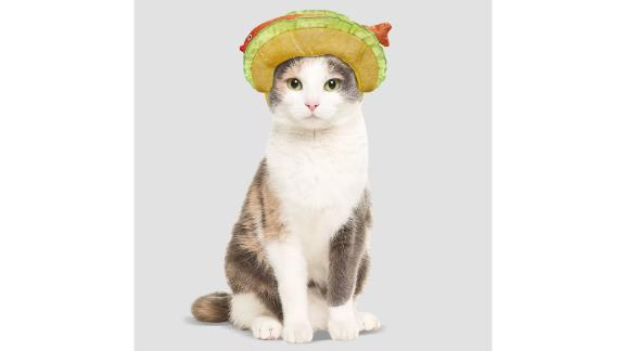Hyde & EEK! Boutique Fish Taco Headpiece Halloween Cat Costume