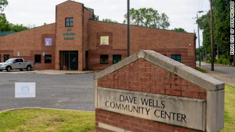 An undated photo of the Dave Wells Community Center  in North Memphis, Tennessee, where voters were turned away for their Black Lives Matter apparel.