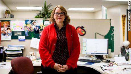 Samantha McKenzie is the President and CEO of Hidden Harvest in Saginaw, Michigan.