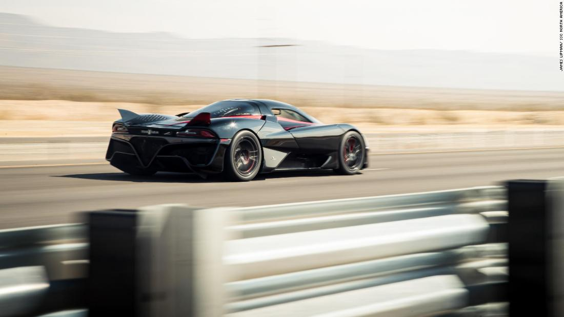 This car just smashed through speed records at 316 mph