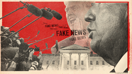 Donald Trump's attacks on the media intensified during the pandemic.