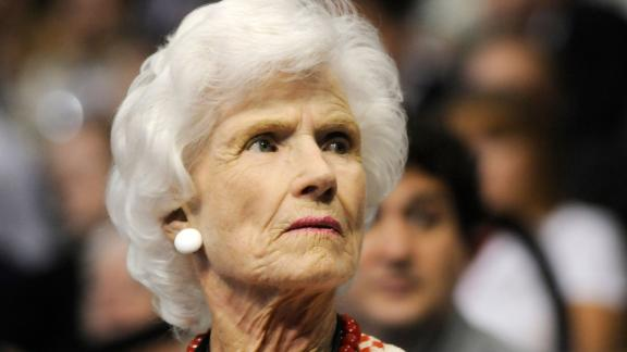 """<a href=""""https://www.cnn.com/2020/10/12/politics/roberta-mccain-dies/index.html"""" target=""""_blank"""">Roberta McCain</a>, the mother of the late Sen. John McCain, died October 12 at the age of 108. The McCain matriarch was a frequent presence on the campaign trail when her son sought the presidency in 2008."""