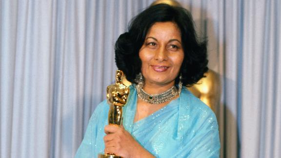 """India's first ever Oscar winner, costume designer <a href=""""https://www.cnn.com/style/article/bhanu-athaiya-death/index.html"""" target=""""_blank"""">Bhanu Athaiya</a>, died October 15 at the age of 91. Athaiya dressed the casts of more than 100 Bollywood movies and gained international acclaim for her work on the 1982 movie """"Gandhi."""""""