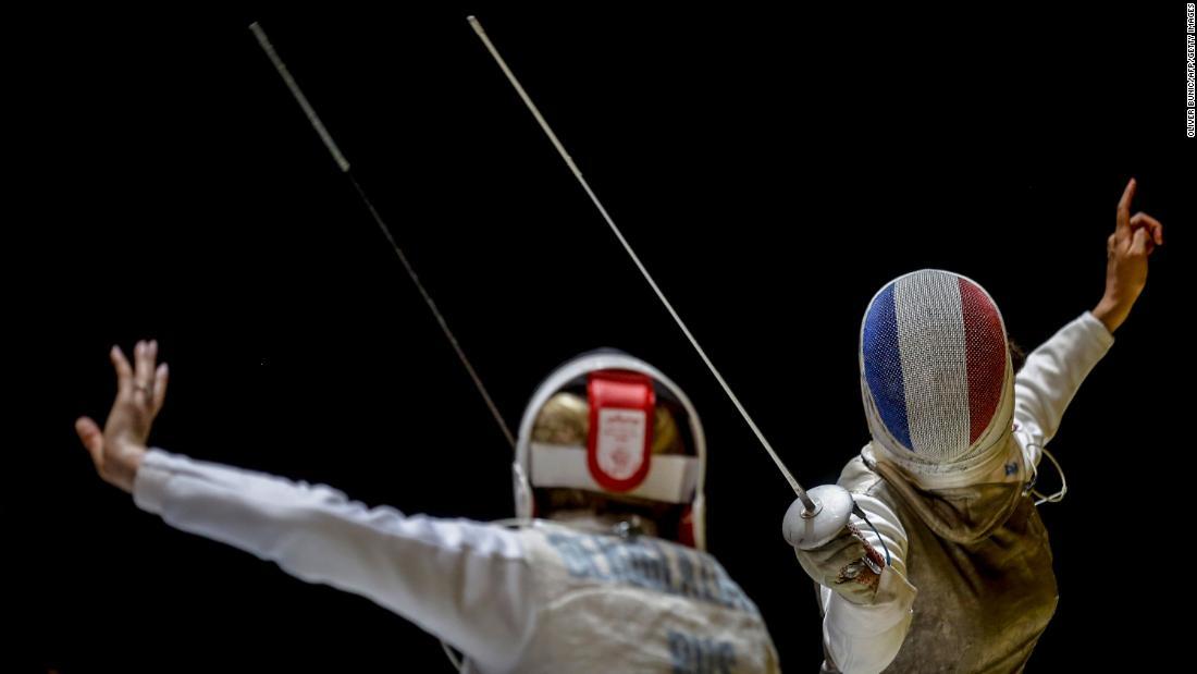 Olympic fencer Ysaora Thibus: 'I'm an athlete, but first I'm a woman, I'm a Black woman'