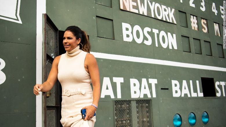 ESPN's Jessica Mendoza is the first woman to be a World Series game analyst on a national broadcast
