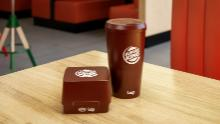 This is what Burger King's new reusable packaging looks like