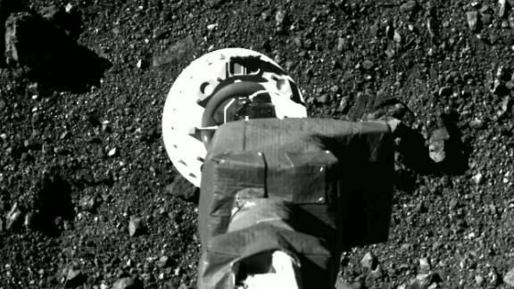On October 21, NASA released images captured by cameras on the OSIRIS-REx spacecraft showing its successful and historic touchdown on the asteroid Bennu.