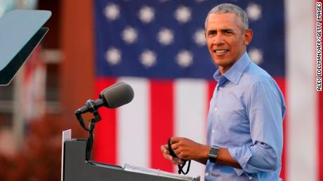 Obama delivers a blistering rebuke of Trump in his return to the campaign trail