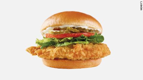 Wendy's new Classic Chicken Sandwich.