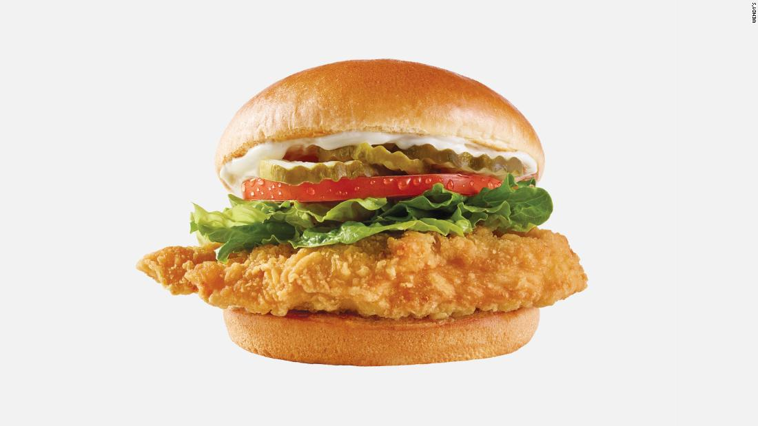 Wendy's quietly released a new fried chicken sandwich