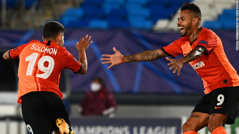 Shakhtar Donetsk produces stunning Champions League upset to defeat 13-time winner Real Madrid