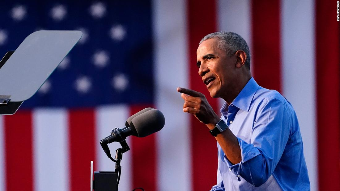 READ: Barack Obama's scathing campaign speech