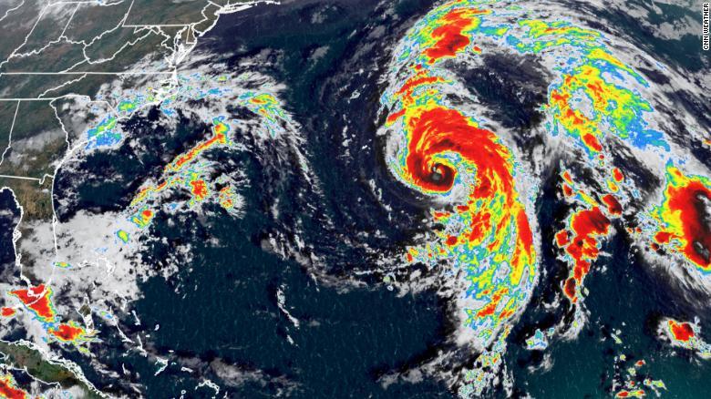 Hurricane Epsilon will impact Bermuda today