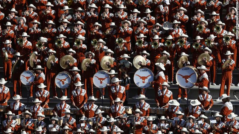 University of Texas band won't play its alma mater because it was once performed at minstrel shows