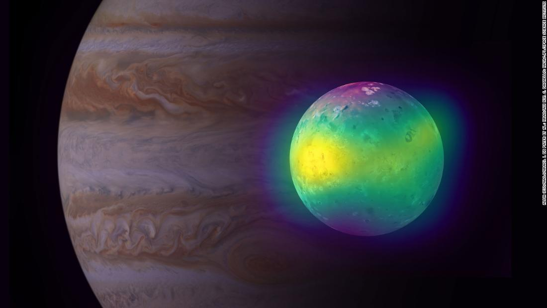 Images reveal new insights about Jupiter's volcanic moon Io