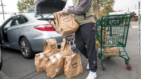 Companies like Amazon, which also owns Whole Foods, will try to make it easier for customers to find open delivery slots this winter.