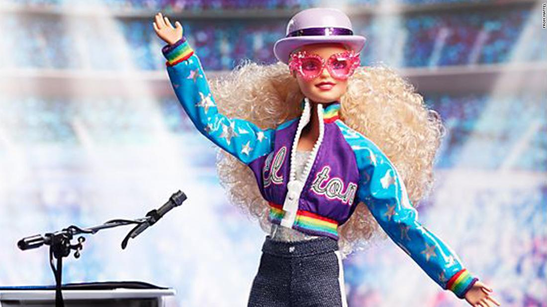 Elton John is getting his own Barbie doll - WorldNewsEra