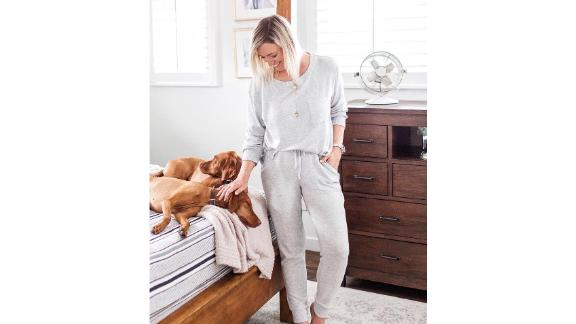 Stars Above Perfectly Cozy Lounge Sweatshirt & Jogger Pants