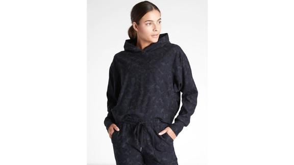 Athleta Farallon Printed Sweatshirt & Stratum Camo Jogger